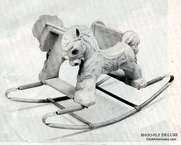Shoo-Fly Deluxe rocking horse