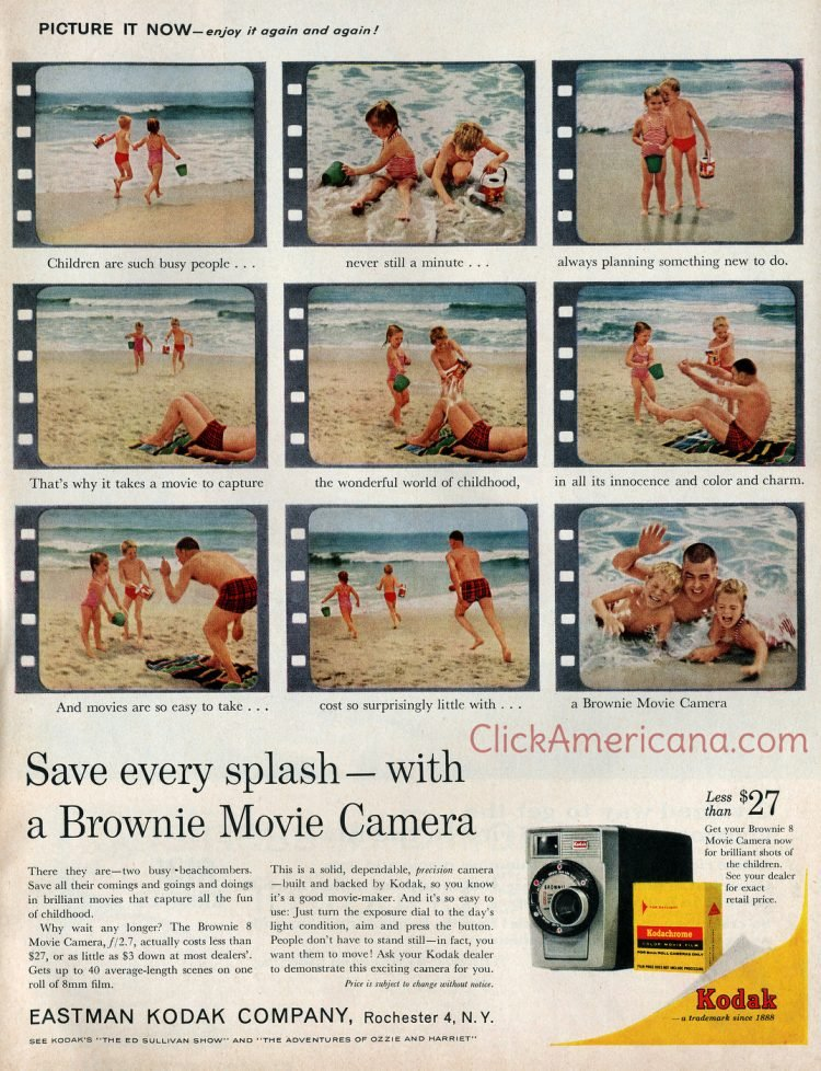 1961 - Brownie Movie Cameras