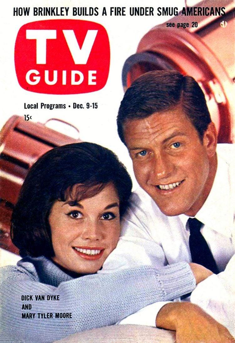 1961 Dick Van Dyke Mary Tyler Moore TV Guide