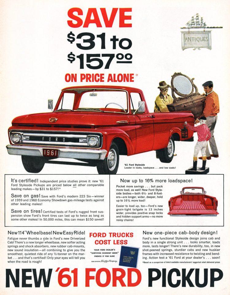 1961 Ford Pickup trucks