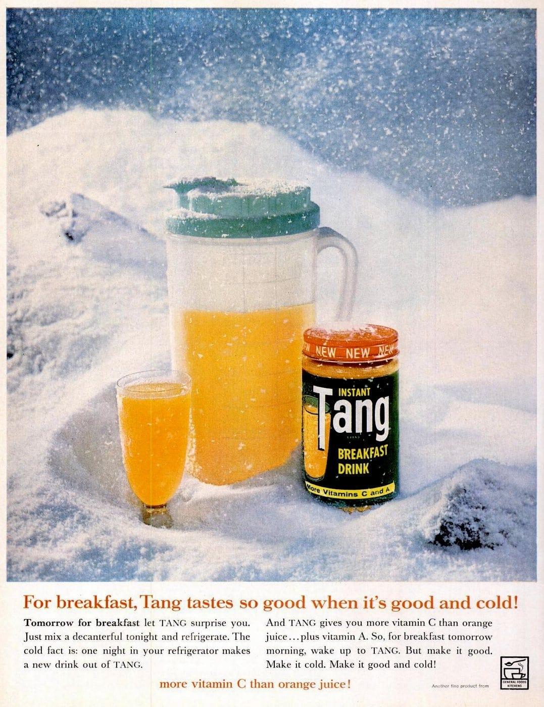 1961 Tang drink