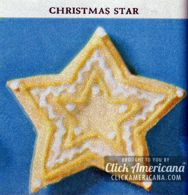 Holiday cookie box: Christmas stars (1961)