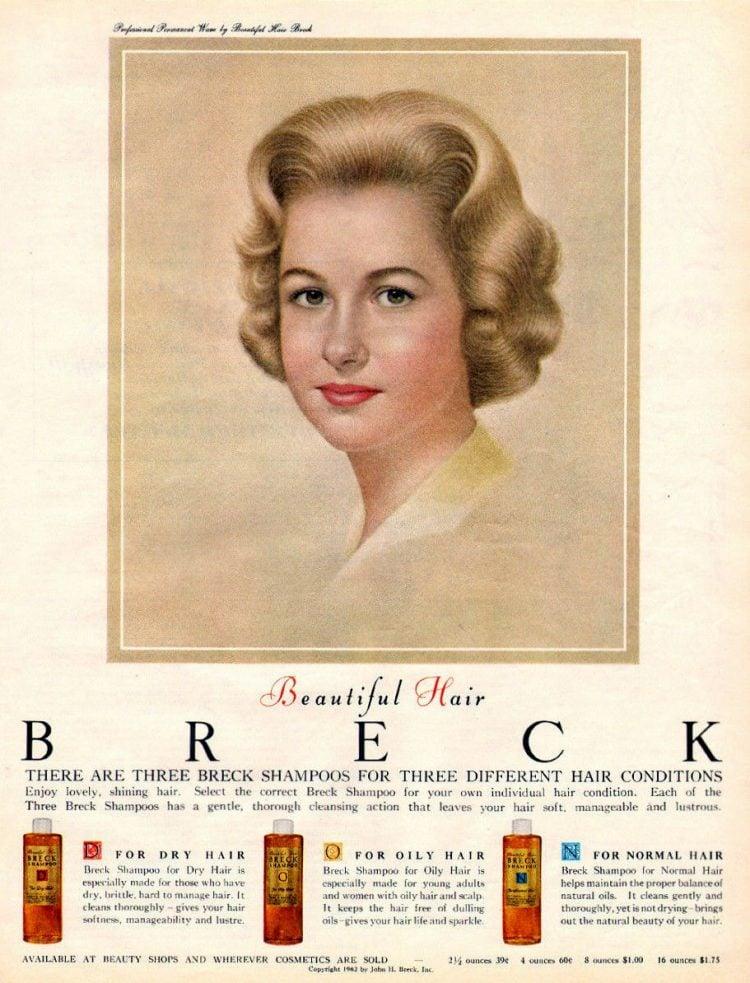 1962 - Breck shampoo