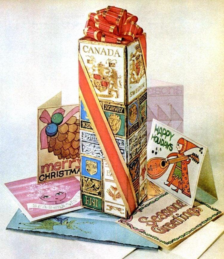 1962 Christmas cards