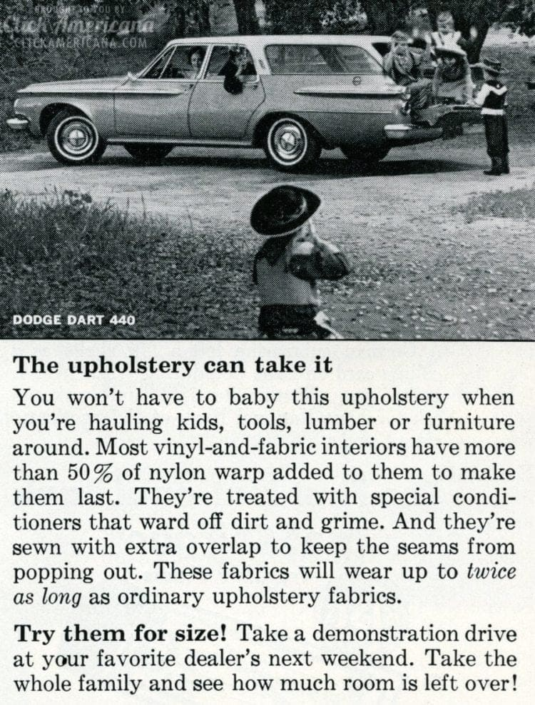 1962 Classic Dodge Dart 440 wagon