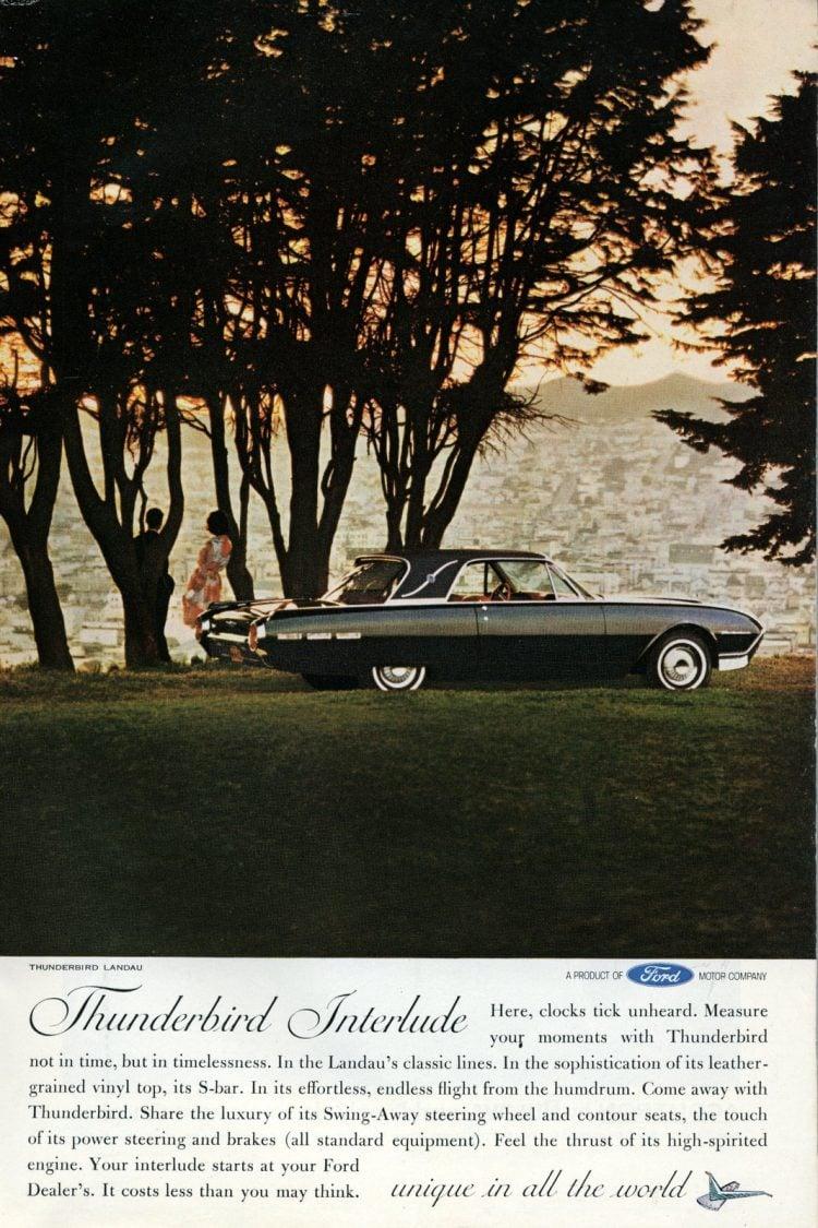 1962 Ford Thunderbird cars (1)