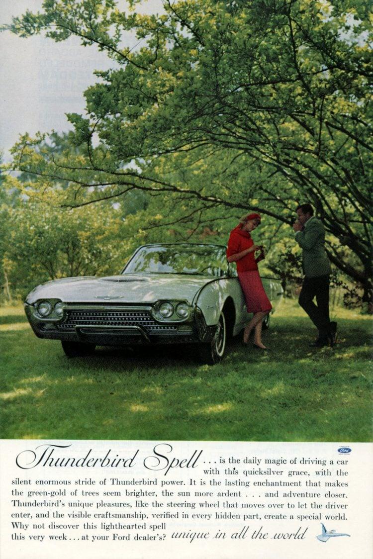 1962 Ford Thunderbird cars (2)