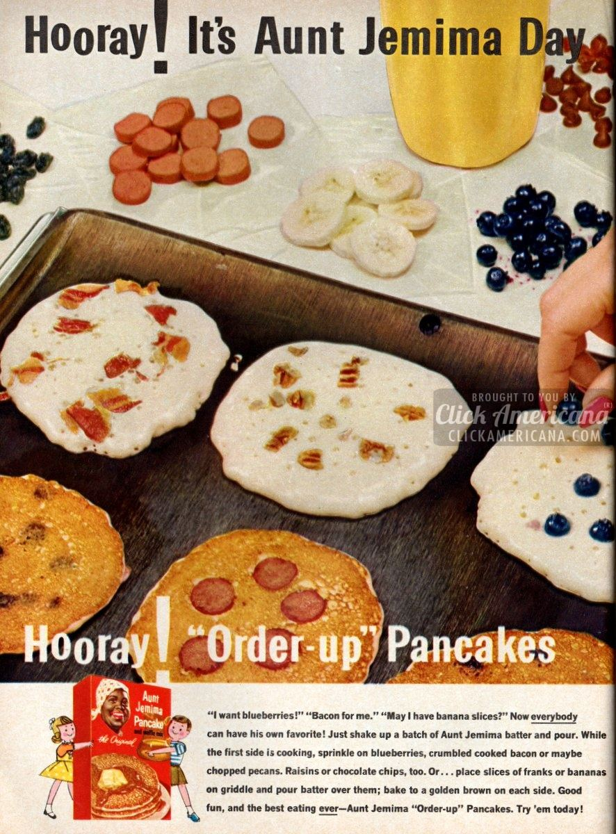 Aunt Jemima 'order-up' pancakes