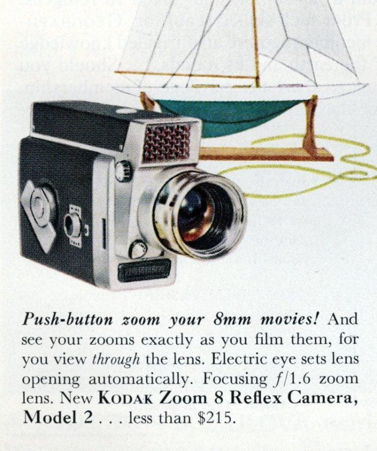 1962 - Kodak Zoom 8 Reflex Camera Model 2