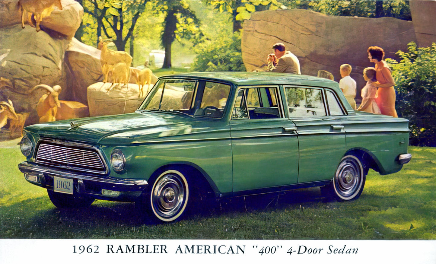1962 Rambler American 400 4-door sedan - Classic cars