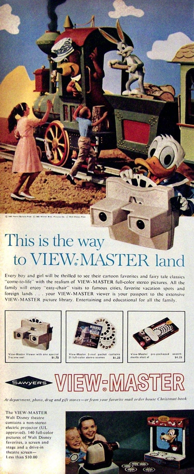 This is the way to View-Master land - With Yogi Bear, Bugs Bunny & Donald Duck (1962)