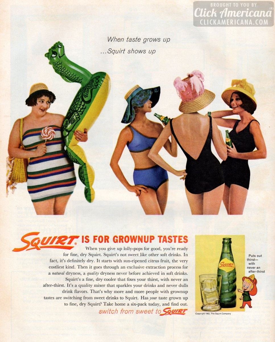 Squirt is for grownup tastes (1962)