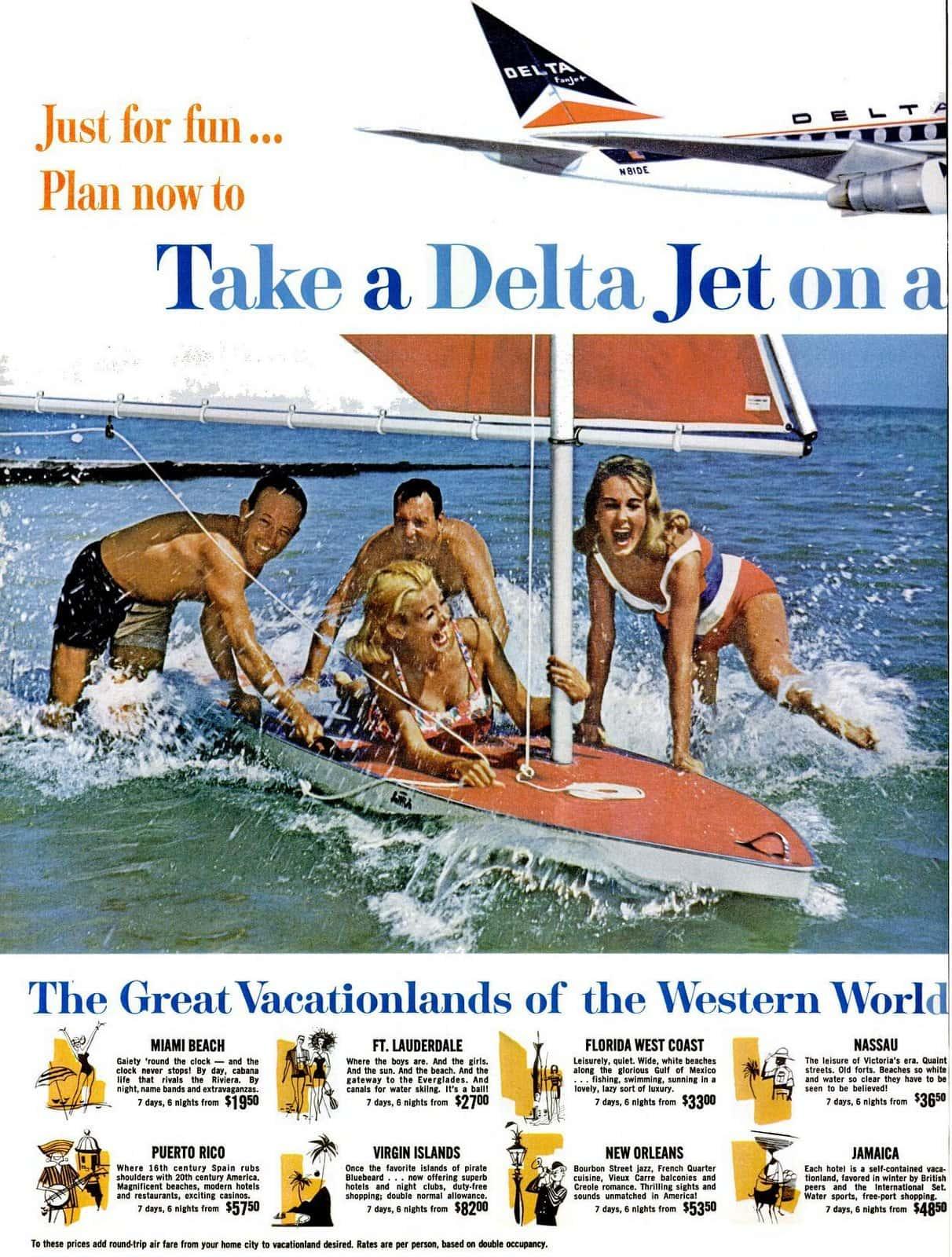 1963 Delta Jets