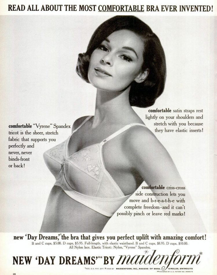 1963 Fashion - pointy bras