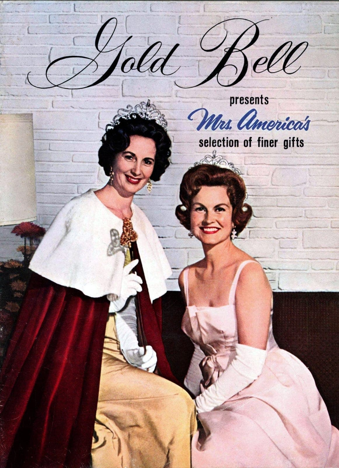 Gold Bell presents Mrs America's selection of finer gifts - 1960s