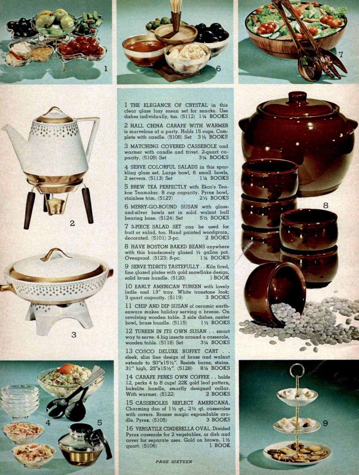 Vintage party dishes, candy dishes, tureens, crystal, carafes and more