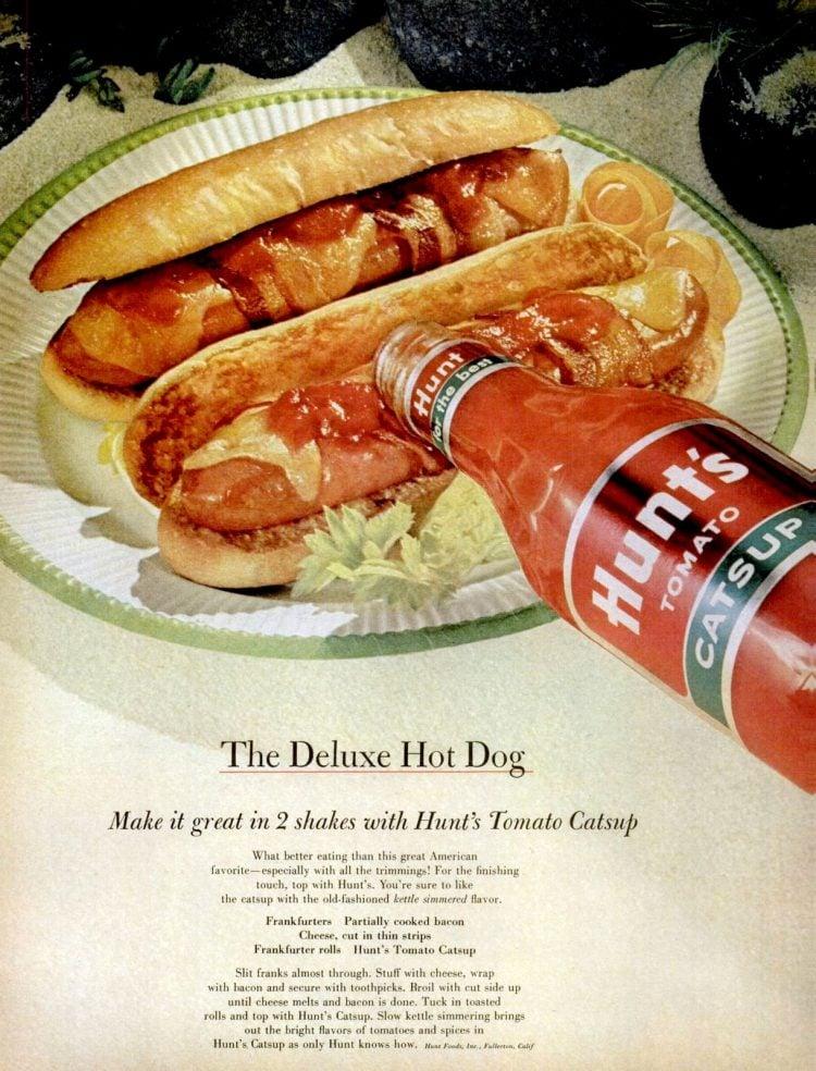 1963 Hot dog recipe