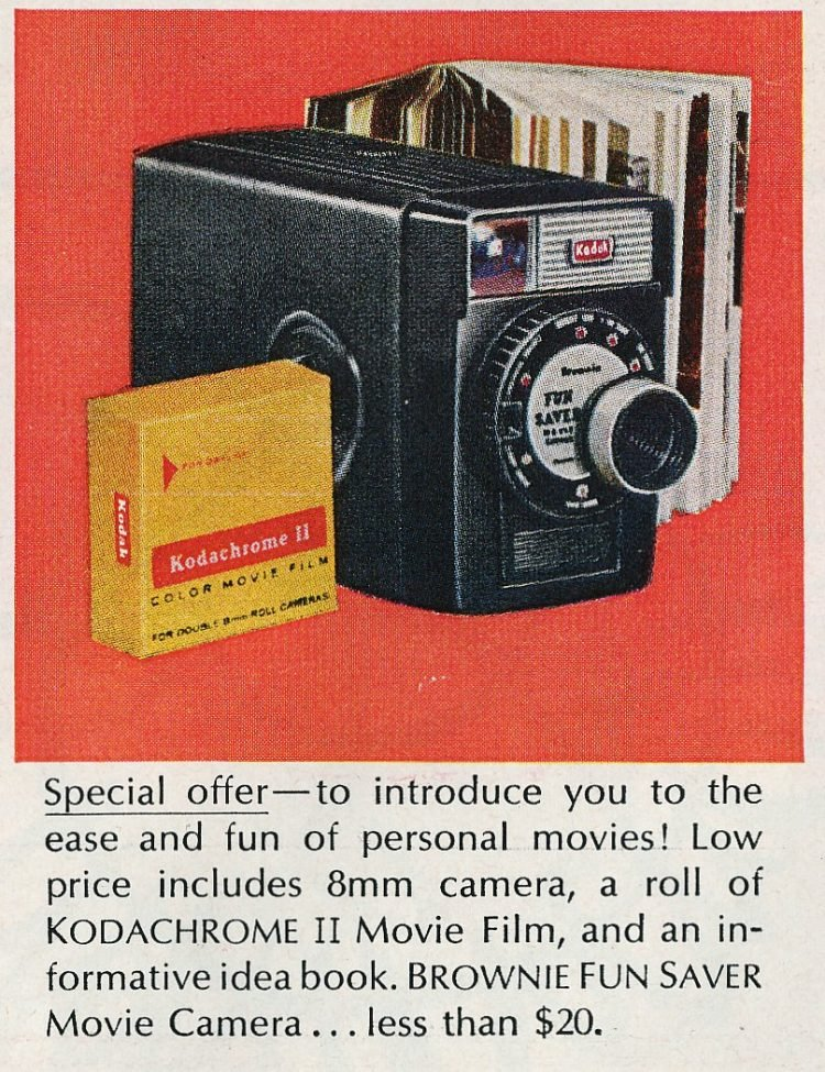 1963 - Kodak Brownie Fun Saver Movie Camera