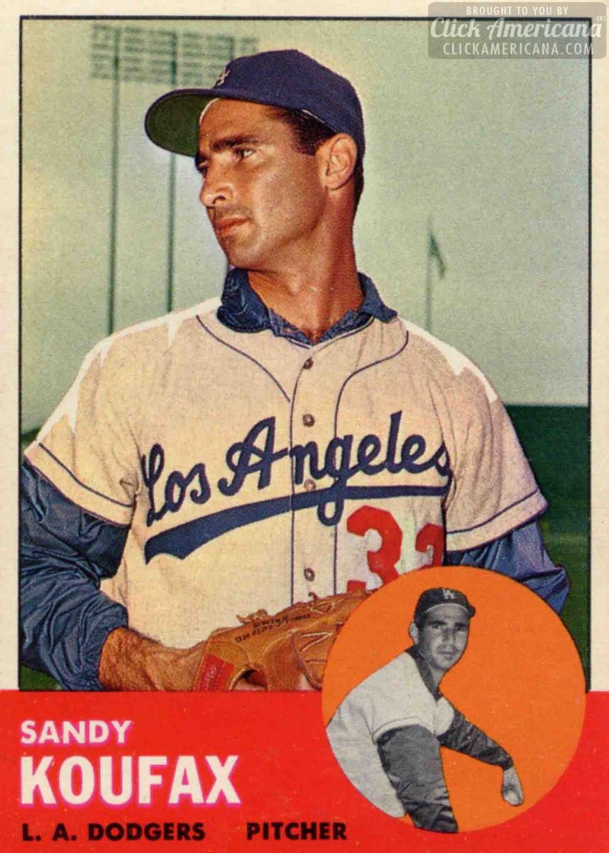 "Sandy Koufax: ""I'm only human"" (1963)"