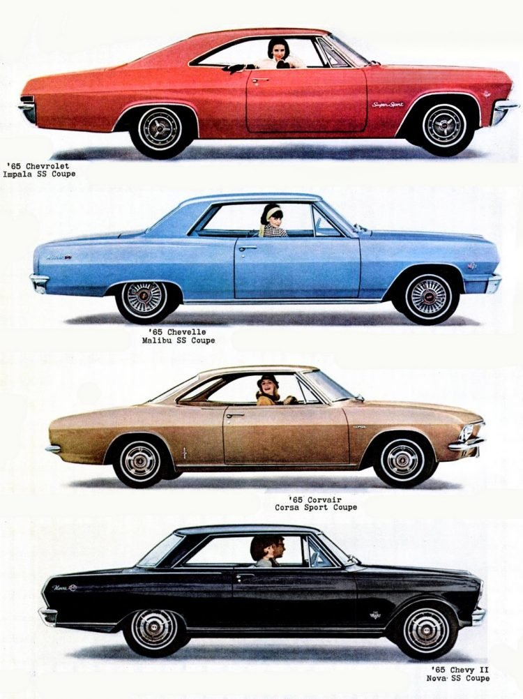 1964 1965 Chevy car models