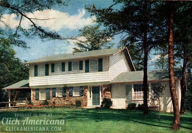 Mccalls Certified House 1964 on americana interior design