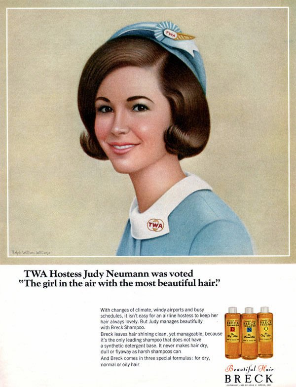 1964 - Breck Girl TWA