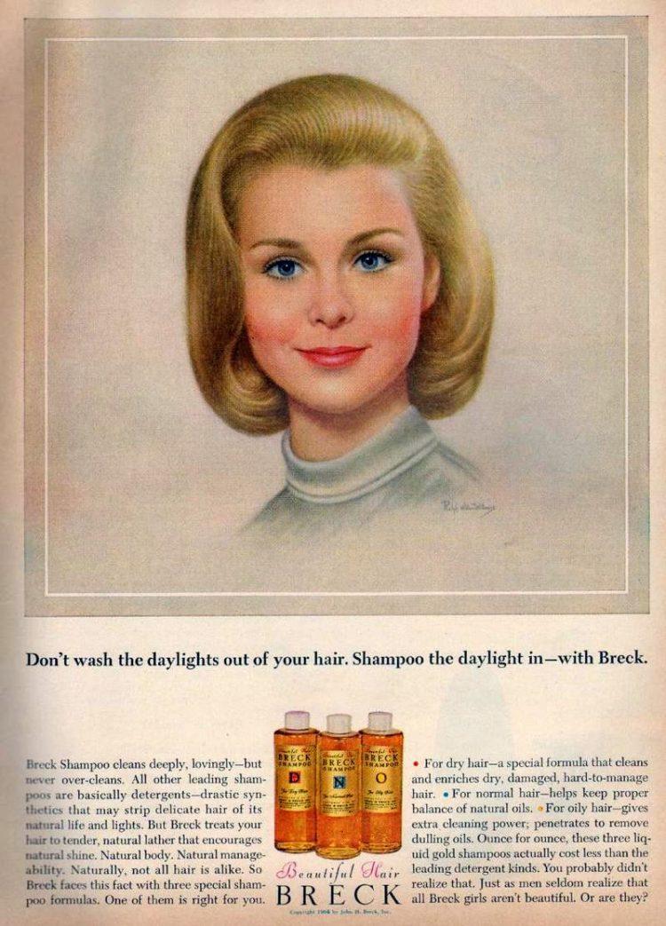 1964 - Breck girl - shampoo