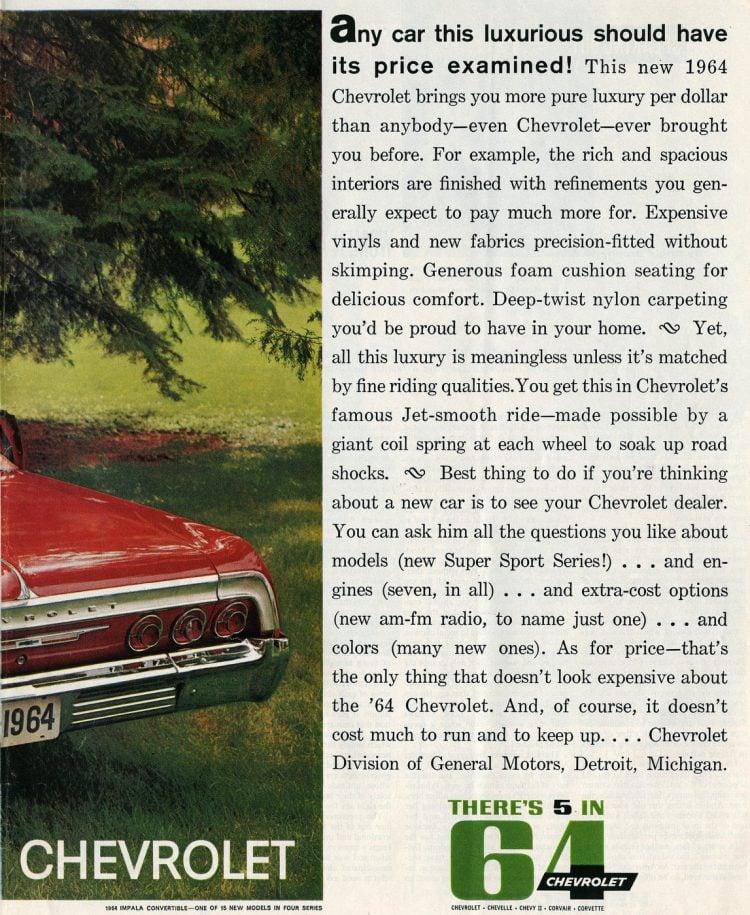 1964 Chevrolet Impala convertible cars (1)