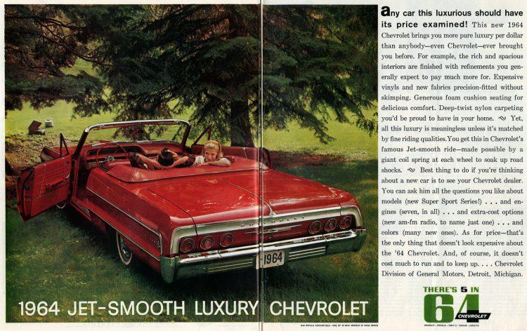 1964 Chevrolet Impala convertible cars (2)