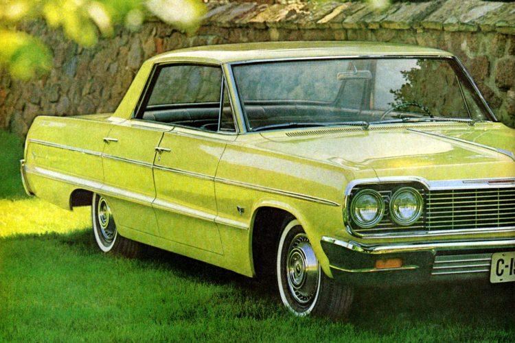 1964 Chevrolets Jet-smooth luxury & soft vinyl upholstery