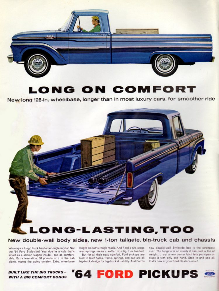 1964 Ford pickups (2)