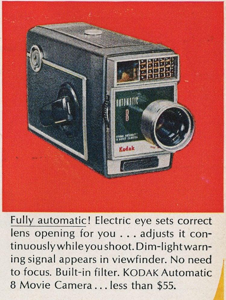 1963 Kodak Automatic 8 Movie Camera