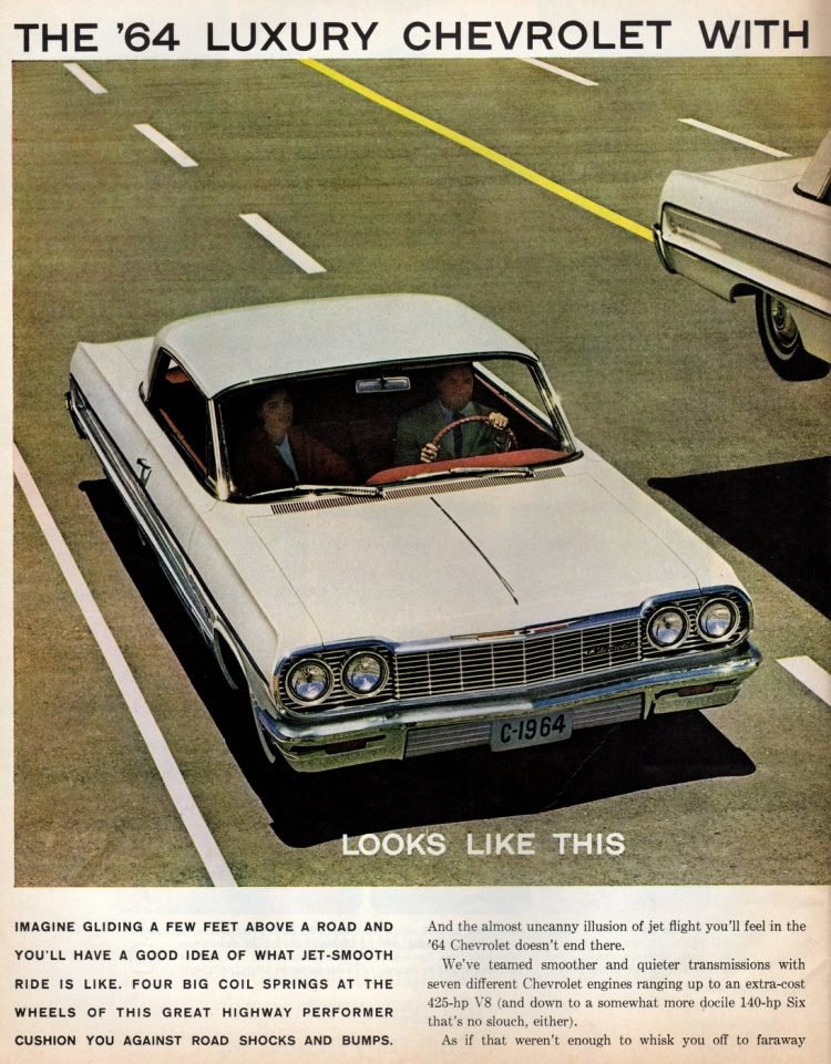 1964 Luxury Chevrolet with the smooth ride (1)