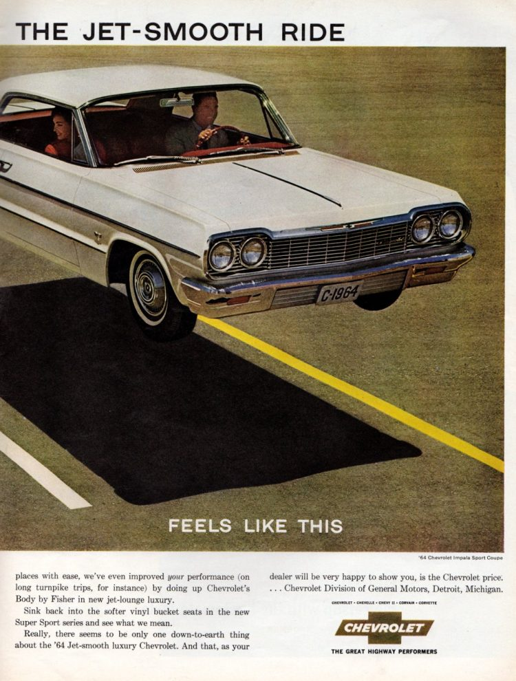 1964 Luxury Chevrolet with the smooth ride (2)