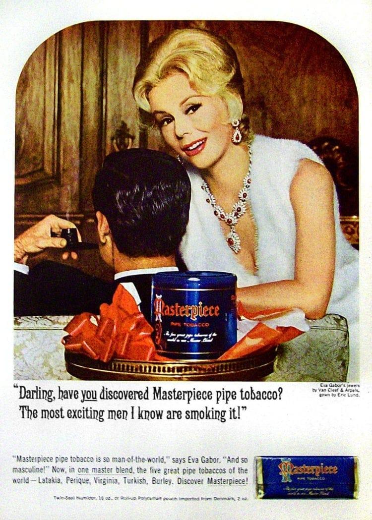 1964 Masterpiece Tobacco with Eva Gabor