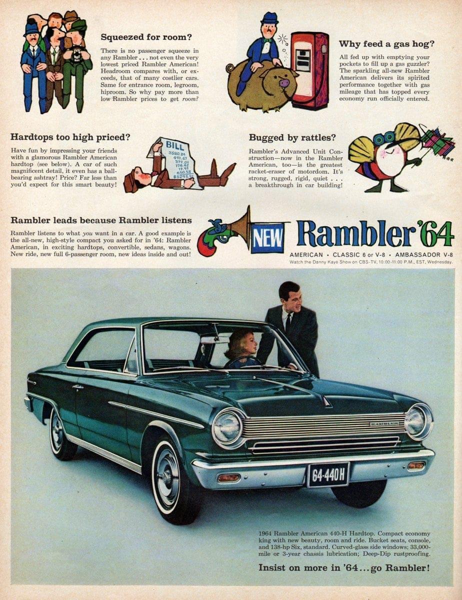 1964 Rambler American 440-H Hardtop