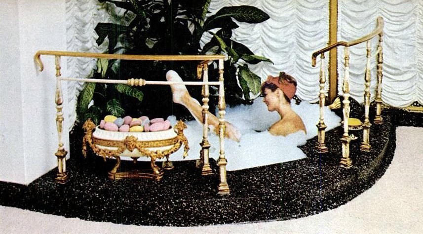 1964 retro bathtub style