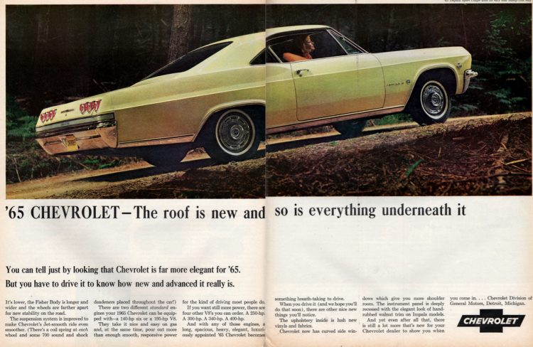 1965 Chevrolet -- The roof is new and so is everything underneath it