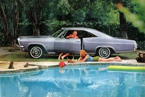 1965 Chevrolet classic car