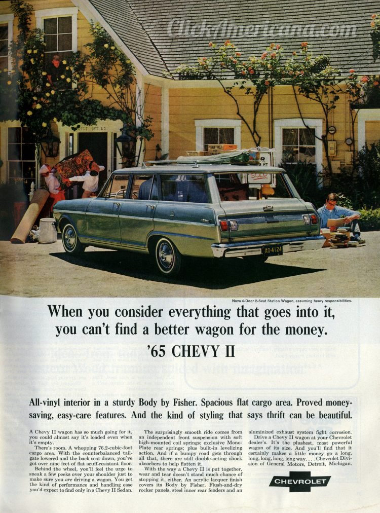 1965 Chevy II station wagon