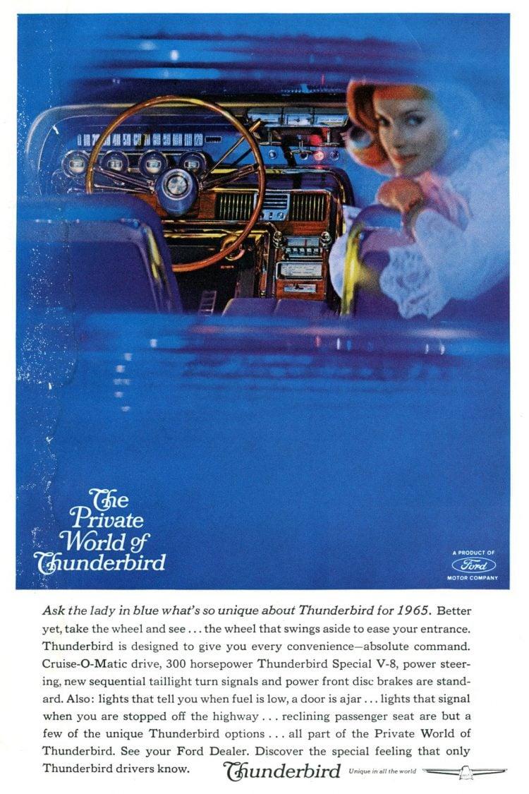 1965 Ford Thunderbird cars (1)