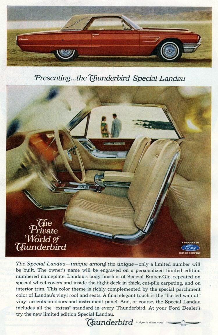 1965 Ford Thunderbird cars (2)
