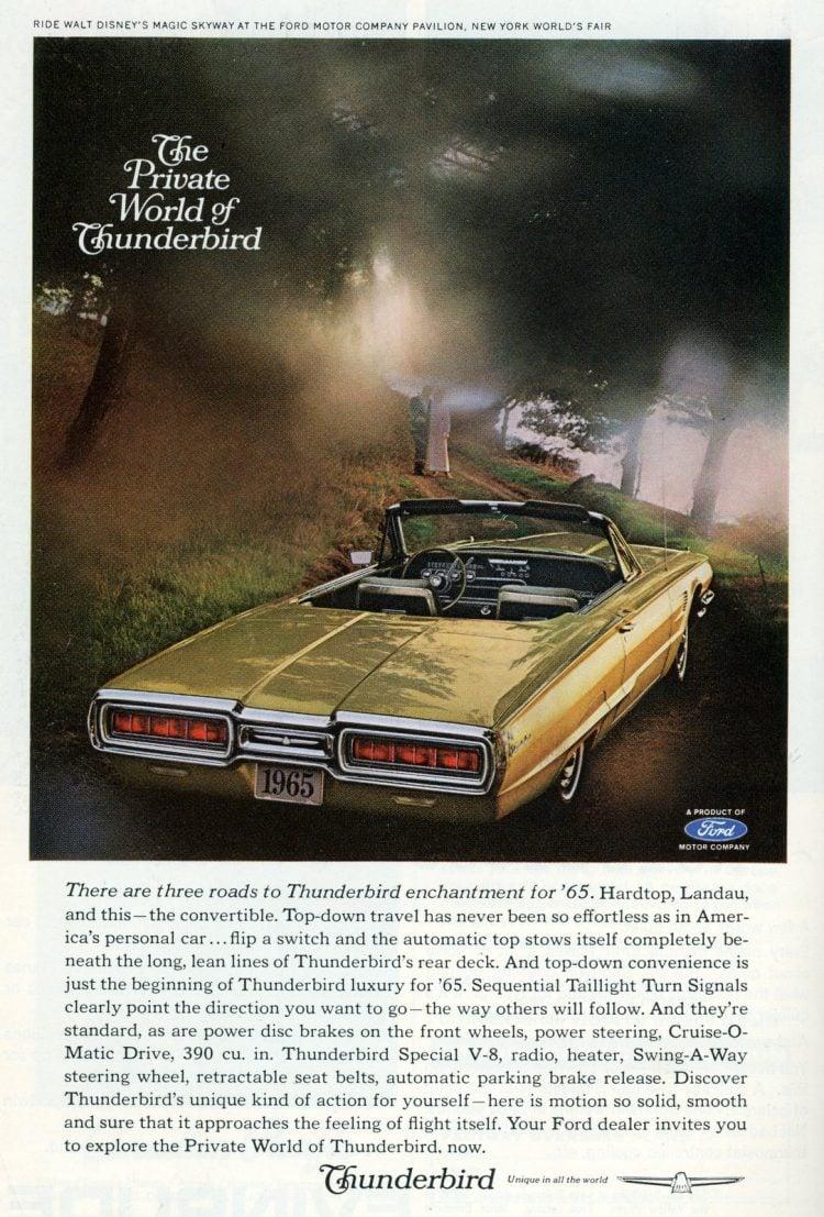 1965 Ford Thunderbird cars (4)