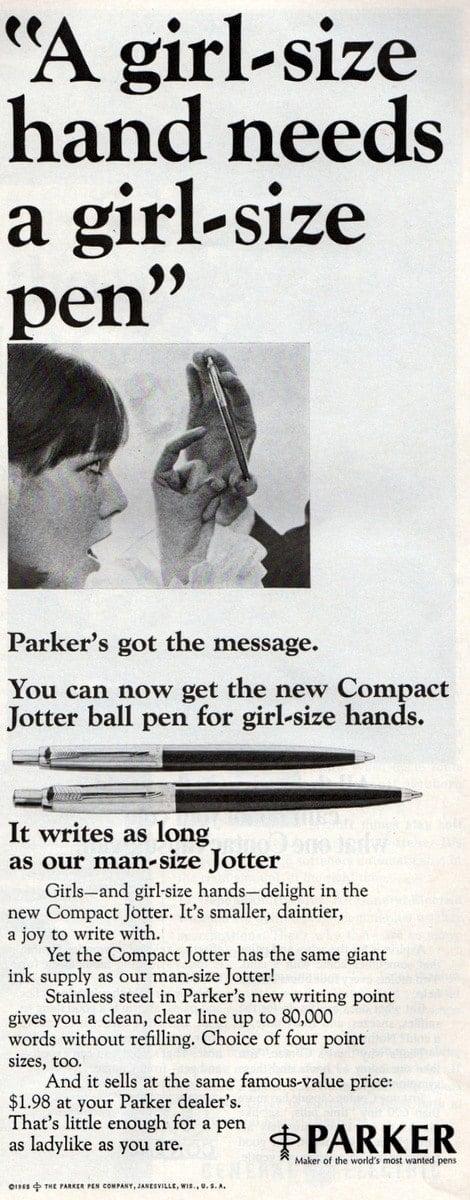1965 - Girl-size-pen