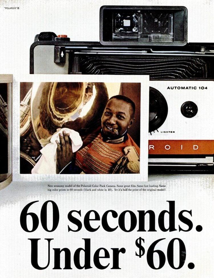1965 Polaroid 104 camera