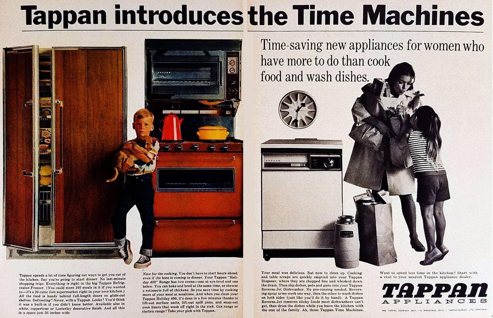 1965 Tappan Time Machines - Kitchen appliances