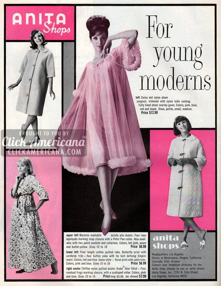 Anita Shops: Clothing for young moderns (1965)