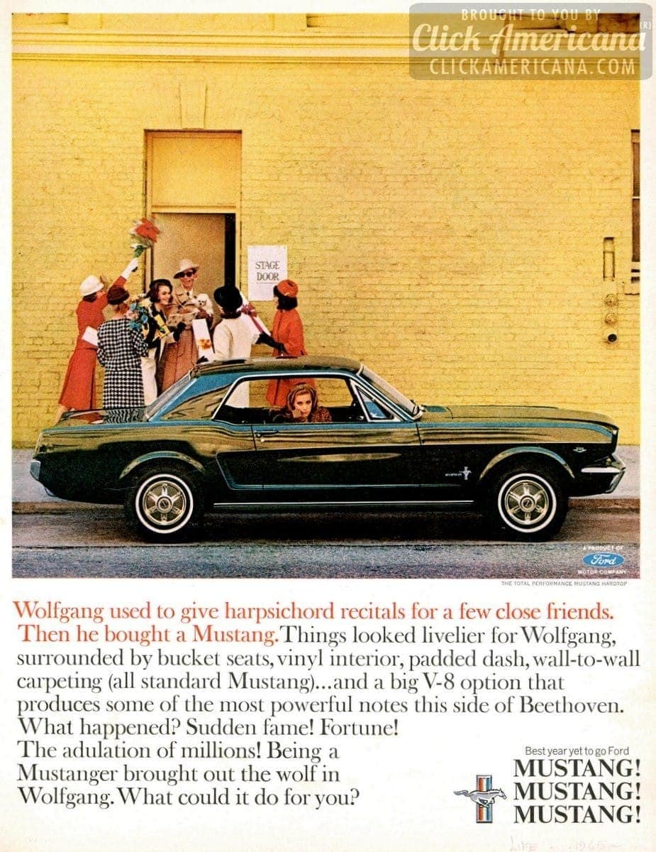 The 1965 Ford Mustang will transform you! - Click Americana
