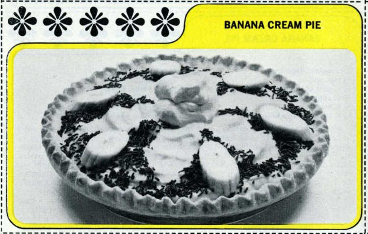 1965 vintage banana cream pie recipe (2)