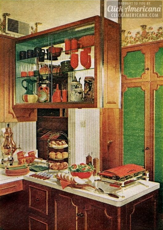 Kitchen remodel: Addition gives needed space (1966)